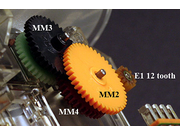 BMW Non-US E30 MotoMeter Individual Odometer Gears